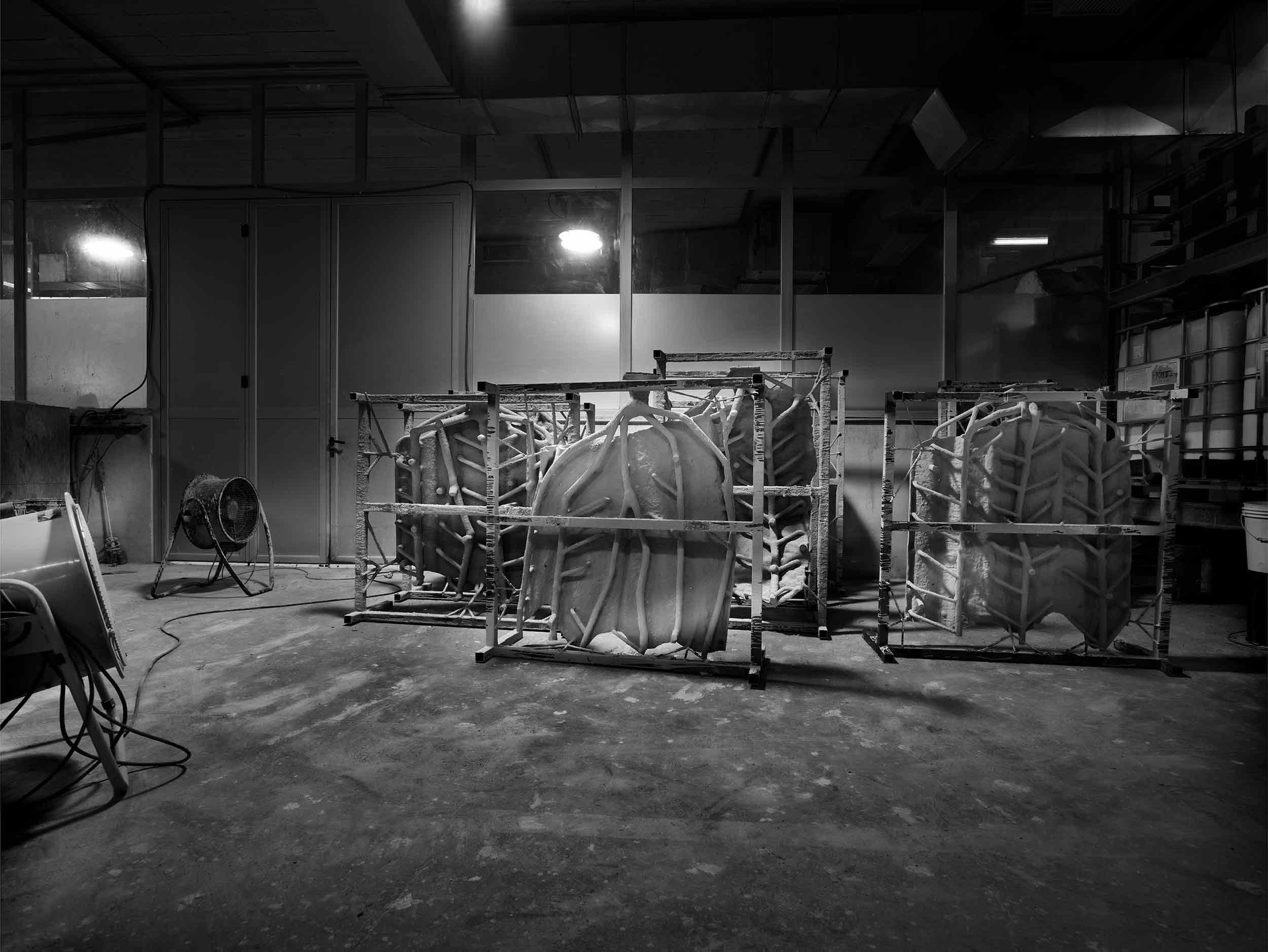 Sculpture ALYCASTRE, by Miquel Barceló, manufacturing process in Alfa Arte - Courtesy Collection Carmignac