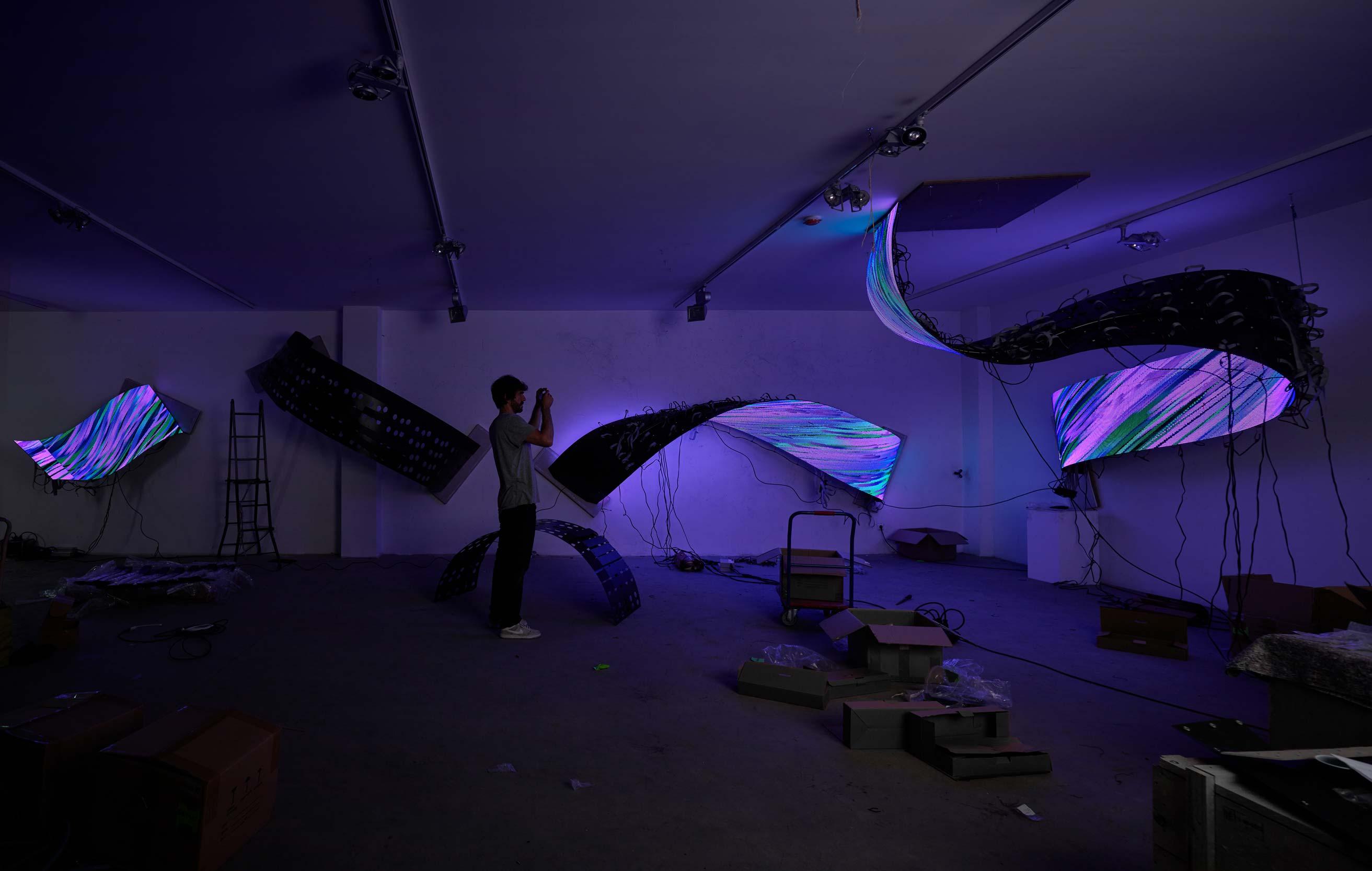 Proyecto PULSE. Daniel Canogar