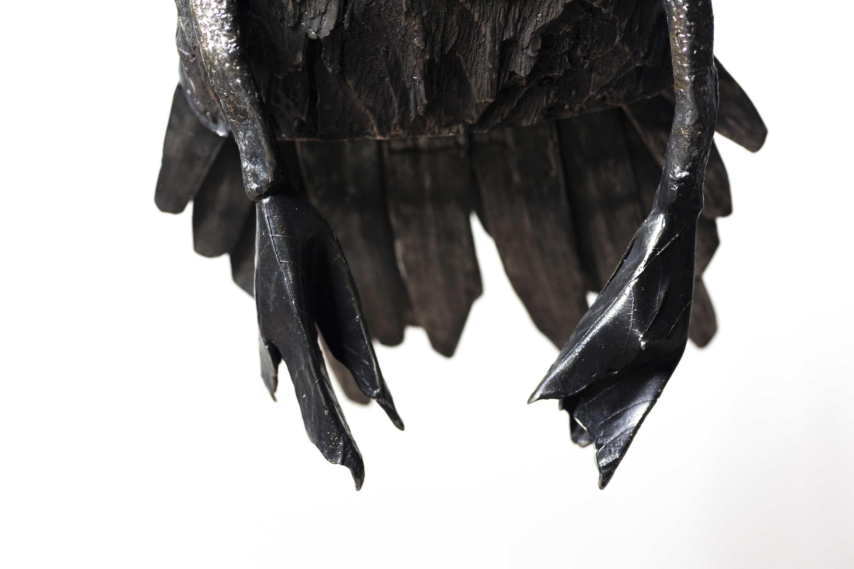 Detalle proyecto escultórico: #PelicansFlyTogether, de Katherine Taylor, en acero inoxidable. Fundida en Alfa Arte, instalada en St. Paul´s School, Concord, NH. USA
