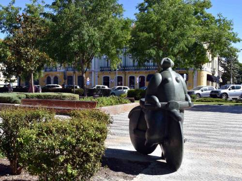 Duarte - Menina C/ Bicicleta - Setúbal
