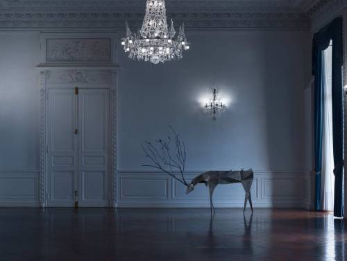 Bregaña & Javier Zunda, for NUMENA - Cernunnos, Deer console table