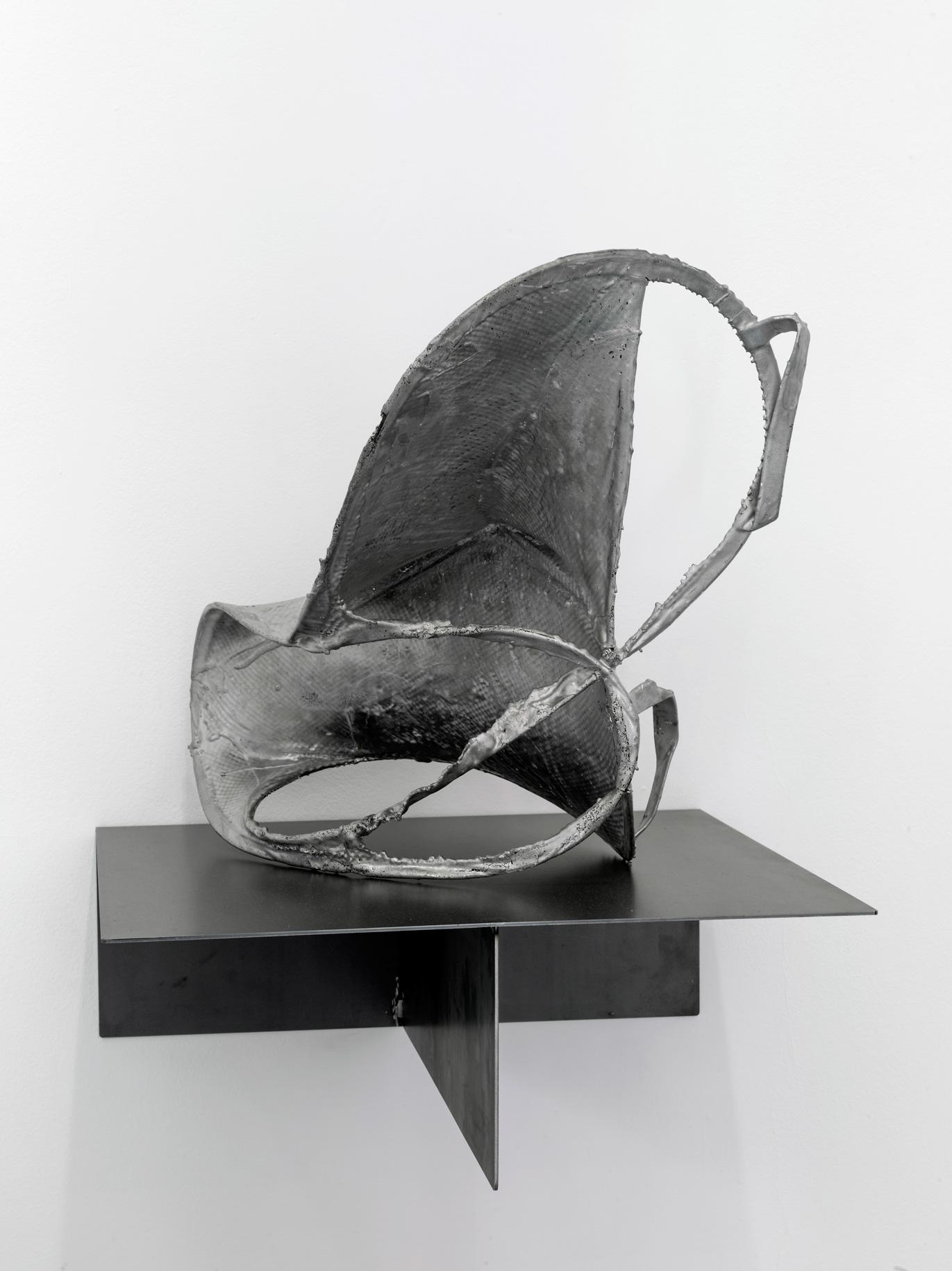 Armando Andrade. Obras para GALERÍA ELBA BENÍTEZ. Aluminio, fundición Alfa Arte